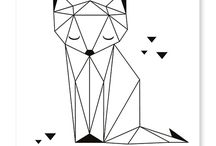 geometria värityskuvat