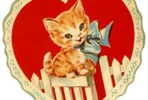 Valentines - Kitties / by Jane R. Fink