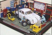 cars dioramas