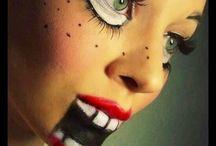 schminken, Fasching, Halloween