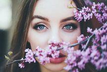 Фотосессия в цветах