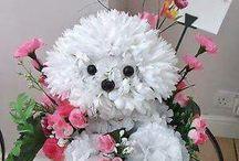 Hund Blommor