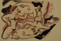 "Alexander Székely (1901-1968) - ""Erotic Scenes"""