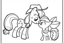 My little Pony Coloring pages free online / Free coloring pages online at: http://magiccolorbook.com/category/my-little-pony/