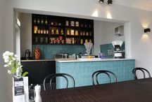 Project Restaurant Mirabelle / Cement tiles - Pictures of projects from our customers - Project Restaurant Mirabelle