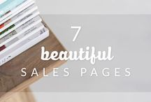 Sexy Sales Pages #Inspo ::