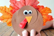 Kids crafts thanksgiving