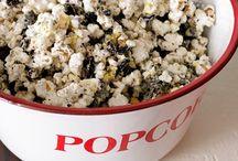 Popcorn Bar / Popcorn Bar Ideas and Inspirations