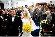 Fotos casamento militar