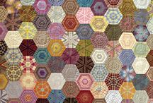 Quilts - Hexies / by Barbara Boucher