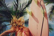 Sun, sand & surf :) / by Banana