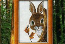 Cross Sitch - Rabbits