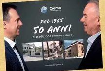Crema Costruzioni snc - la storia / la nostra impresa 1965 - 2015  50 anni di tradizione e innovazione