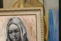 Wall art and mirrors