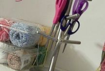 Sewing Room Organizing / Ideas for creative sewing room organization & storage