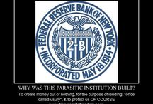 """End the Fed, & the Entire """"Money"""" Lie. / Do you know who the Knight's Templar were? Do you how """"paper money"""" came to be in existence? Do you know that """"lending money at interest"""" was once called usury, and was very illegal? The whole thing is a lie created to keep you enslaved. Look up the word Fiat in your dictionary!"""