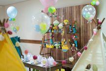 Decoração Festa do Pijama / A festa do Pijama é um outro estilo de montar uma festa, onde convidamos os amigos mais próximos do aniversariante. É uma festa bem intimista! Para poucas crianças e que cabem tanto para meninos quanto para meninas.  Os balões mais adequados são os metalizados e bubbles que duram de um dia para o outro.   #balaocultura  #birthdayparty #cumpleanos  #decoracaoinfantil #ideas #ideasforparty   #cabanas #festadopijama  #festadegemeos #festademeninoemenina #aniversariodecriança
