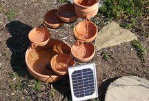 Solar fountains / by Desert Gal Treasures