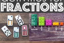 Math for Kids / Math activities for all ages can be found here. Math with legos, math with marbles, fractions, measuring and more!