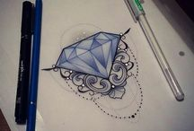 Tattoo diamond
