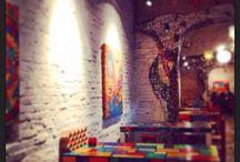 Un lugar que... / #Restoran #Arte #LaPlata