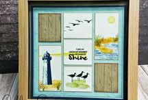 Papercrafting - Samplers & Shadow Boxes