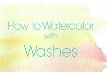 Art Tips - Watercolors