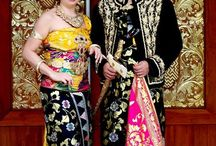 Bride - some Tribes / Indonesia has many islands and many tribes. Each tribe has a culture and tradition, and these are some examples of their wedding clothes and makeup