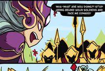 LoL Comics / League of Legends comic strips