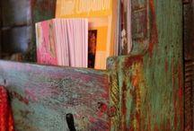 pallet art/furniture / by Kath