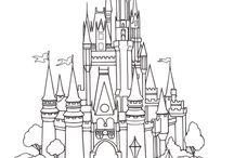 Walt Disney szinezők