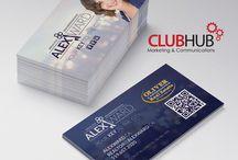 Business Cards / http://www.clubhub.ca/portfolio/