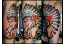 Indian Tattoos / http://www.tattoosideas.co.uk/indian-pictures.html