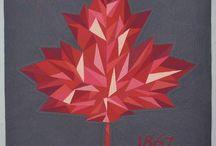 Canada 150 Quilt ideas