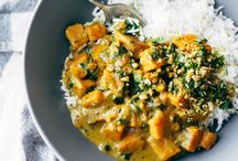 Healthy alternative recipes / Curry