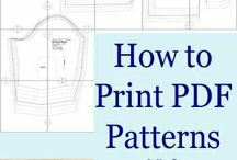 How to print patterns