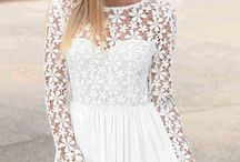 Slim Elegant Dress / Embroider Long Sleeve Slim Elegant Dress