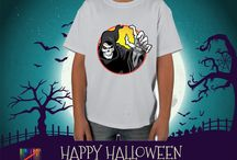 The Halloween / The Halloween don't be a scared. Order one of our t-shirts now and for a limited time get free personalization at coloristees.com.