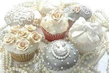 Bridal cupcakes / by A Sweet Design Cakes & Cupcakes, Inc