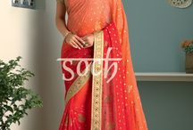 Nadia Sarees / 9 yards of elegance for the diva in you #soch