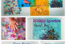Sanseleg - Sensory play ideas