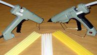 HOT MELT GLUE GUNS & GLUE STICKS