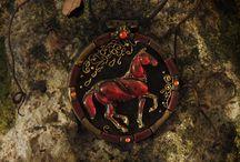 Hand-crafted and jewelry by Larisa Zorina / Hand-crafted horses and equestrian   jewelry by Larisa Zorina