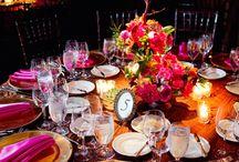 Svadobné inšpirácie / stolovanie / Wedding Inspiration Board (Centerpieces)