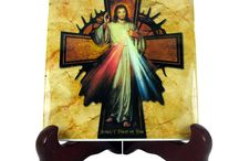 Catholic tile art by TerryTiles2014 / #Catholic #tile art by @TerryTiles2014 on Etsy: >>> http://etsy.me/2eFHqyj <<< Wonderful ceramic #icons 100% #handmade in Italy. A perfect, nice and affordable #religious gift idea for you, your home, your loved ones.