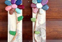 Arte con rocas pintadas / Hermoso