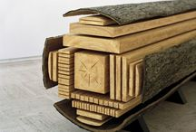 Wood & Wood-Art / The concept of discovering something which has always been there but needs to be shown.