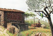 Roberto Innocenti illustratore Italiano.