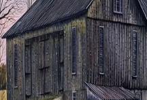 træbygninger