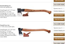 forged axes